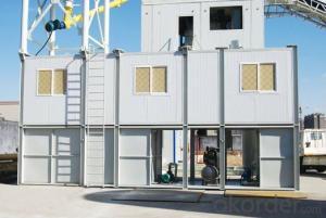 Modular concrete mixing plant Environment Friendly