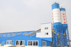 Tubular Pile Dedicated Batching Plant Concret mixing plant made in China