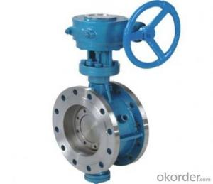 Butterfly Valves Ductile Iron Wafer Type DN800