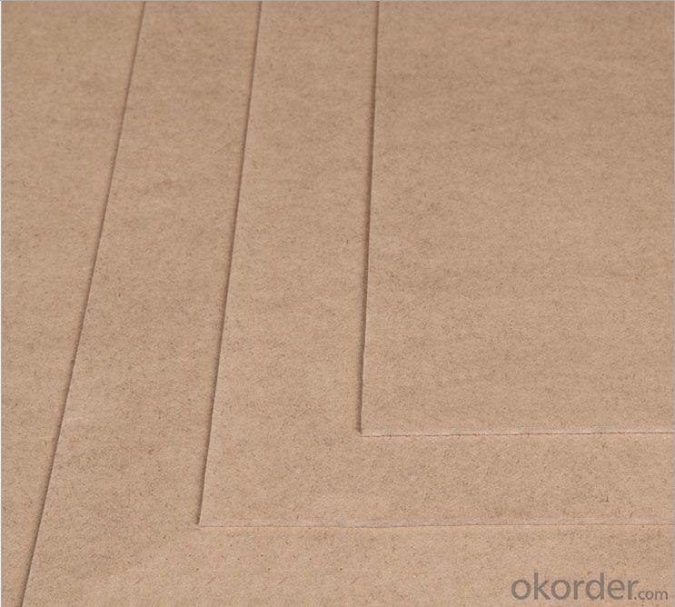 Thin Plain MDF Board  2.7x1830x2440mm Light Color