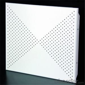 Aluminium Ceiling Lay in Type Plain Standard White
