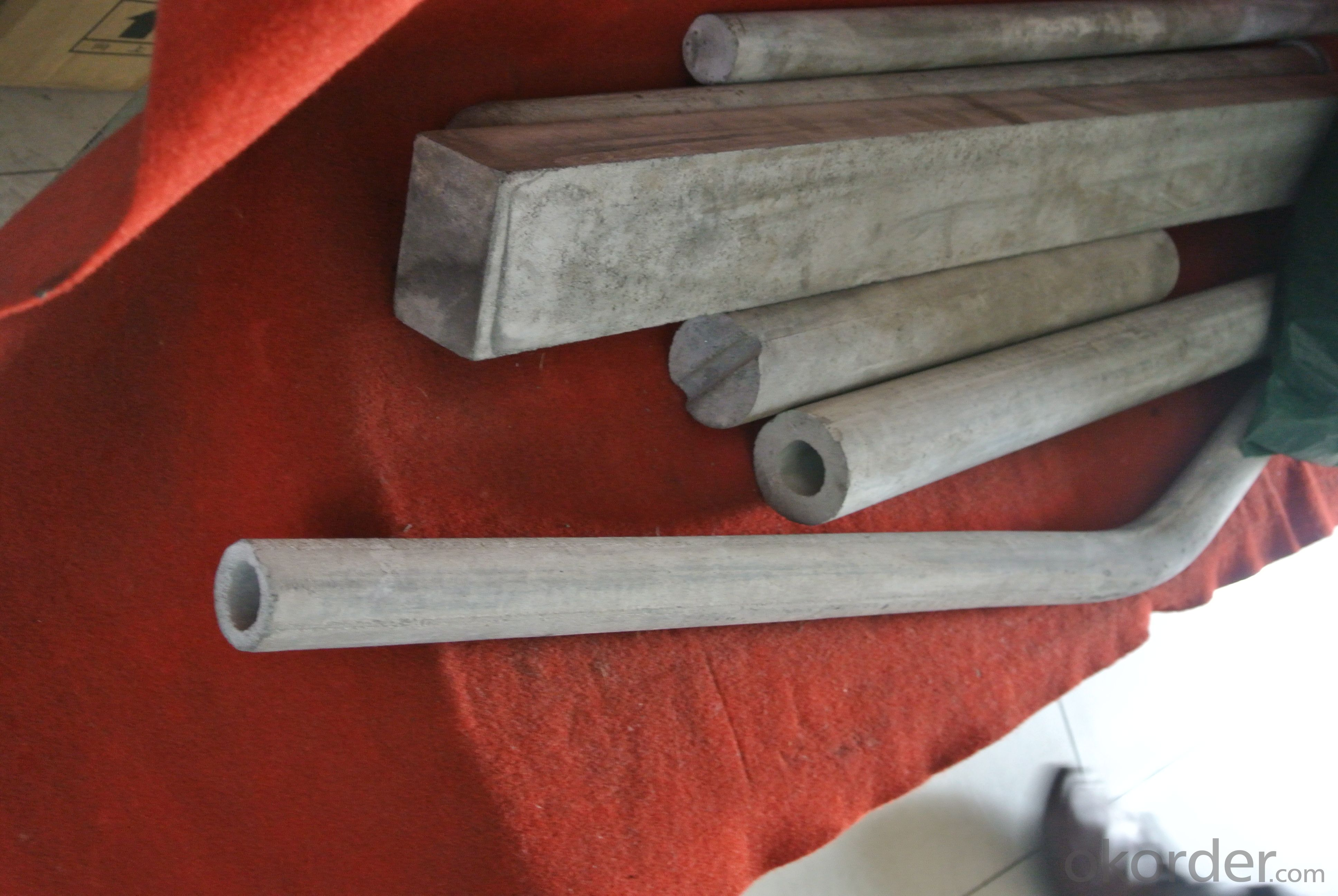 Carbon - graphite carbon sleeve used for furnace roller
