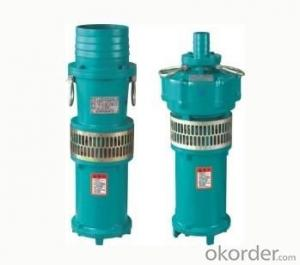 QY Series Oil-Filled Submersible Pump for Clean Water