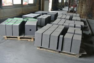 Nitride Bonded Silicon Carbide Refractory Brick, Side Wall Brick for Aluminum Electrolysis Cell