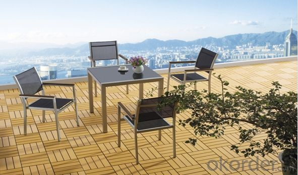 Outdoor Furniture Leisure Garden Rattan Table Set
