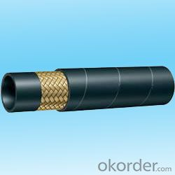 Wire Braided Hydraulic Hose High PressureDN26