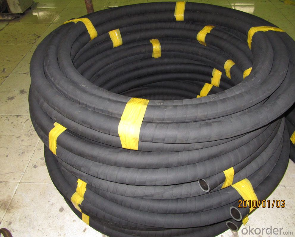 Wire Braided Hydraulic Hose High Pressure DN32
