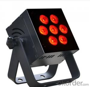 Led Stage Light 7-Heads Effect Light 7 Eyes Disco Lighting