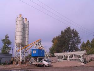 HZS50 Concrete Batching Plant / ISO & CE