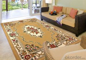 Classic style area rug Cheap Price Durable Washable Rug Gripper