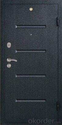 Steel PVC Door  Russia Style