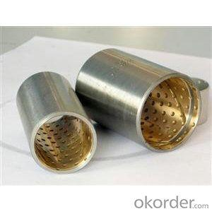 Bushing for leaf spring Bimetal bearing bush Clutch Bimetallic bushing