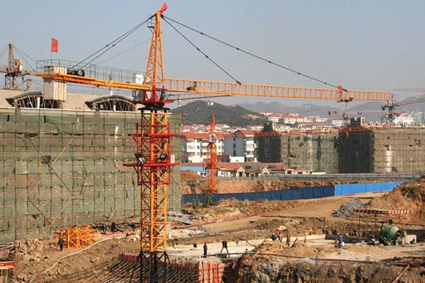 FUXIANG Tower Cranes TC5510B (Top-Slewing)