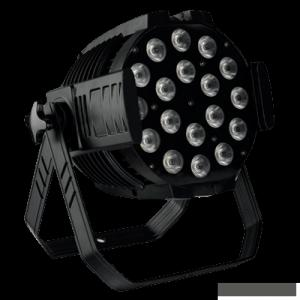 Led Stage Lighting High Power Led Par Light 18*10w 4in1 RGBW/A Par 64