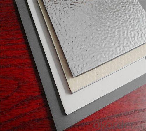 TOBOND pvdf sheet/ pvdf aluminum panel/ aluminium sheet price/alumninium composite panel