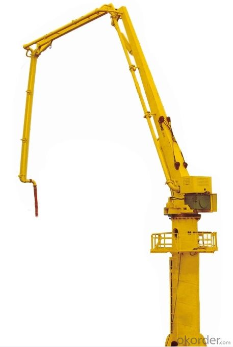 Hydraulic Stationary Self-climbing Concrete Placing Boom