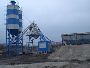 HZS35 Concrete Batching Plant / ISO & CE