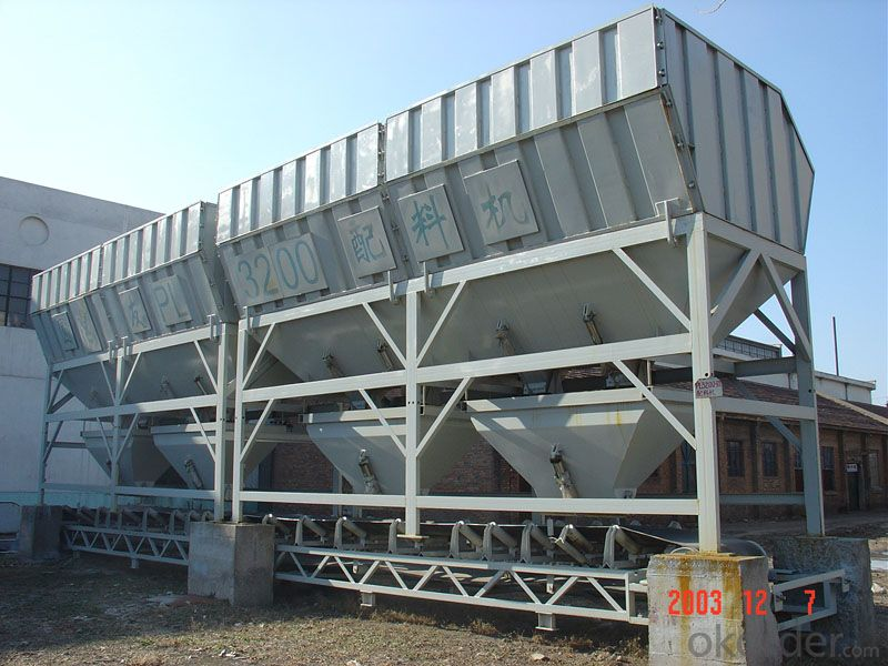 Concrete Batching Machine PL3200 / CE & ISO Certificate