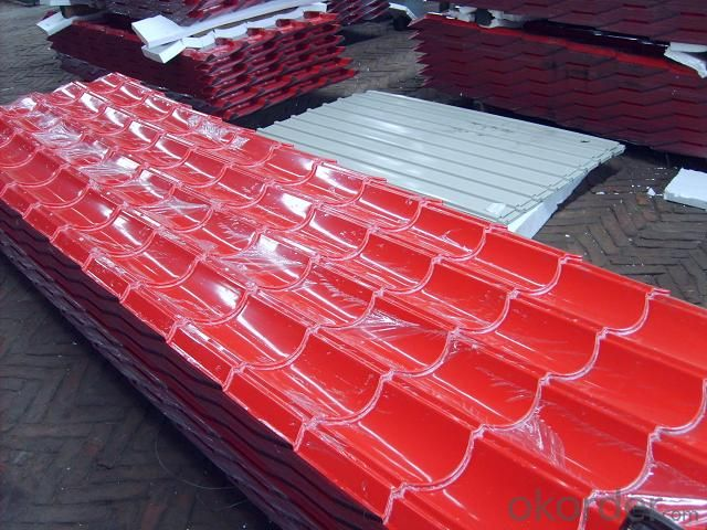 prepainted GL   corrugated     steel sheet