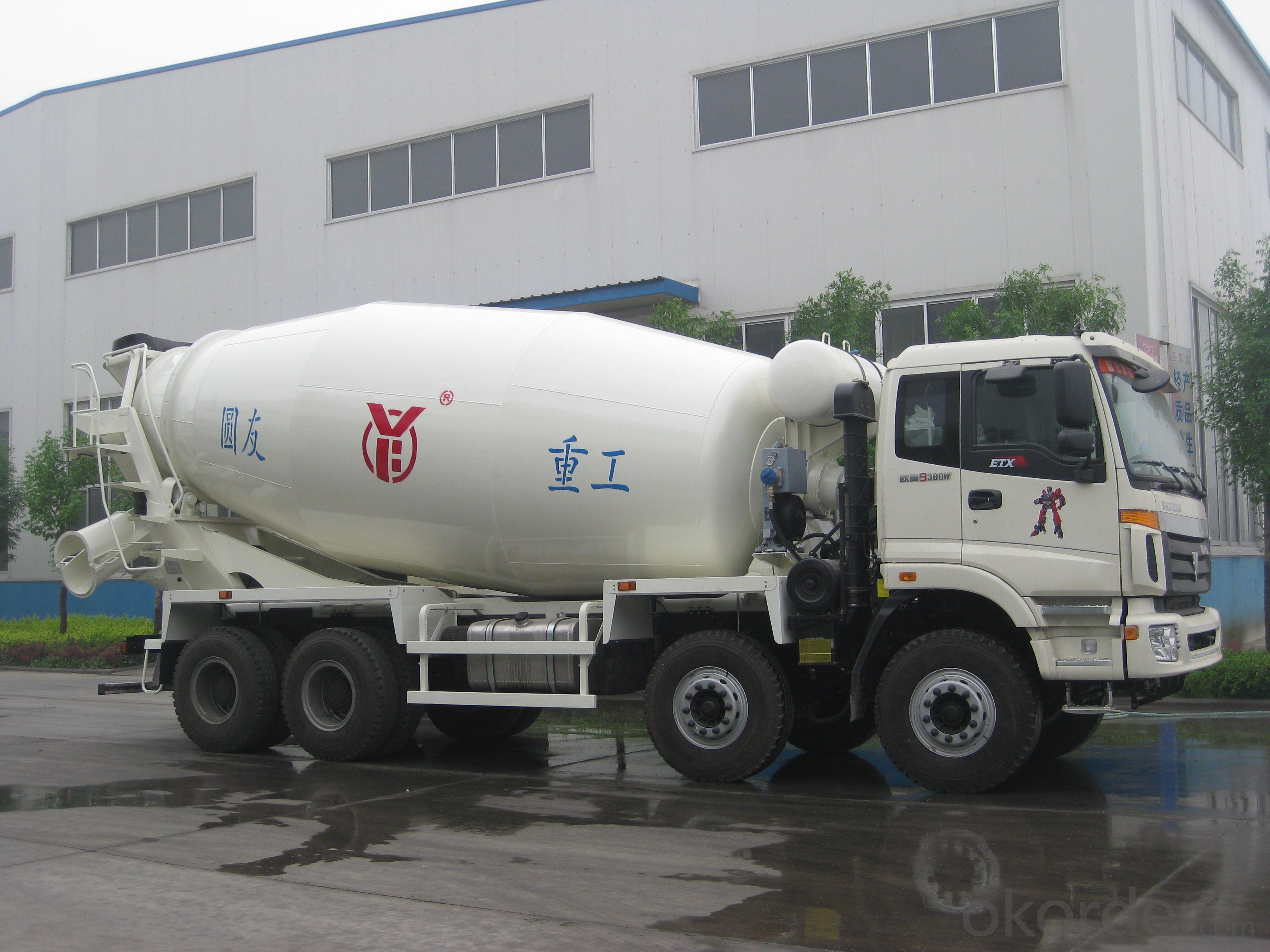15m³  Concrete truck mixer / ISO & CE certificate