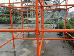 Scaffolding System Ringlock Scaffold Vertical standard