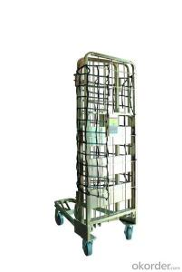 Foldable plant roll trolley with best price