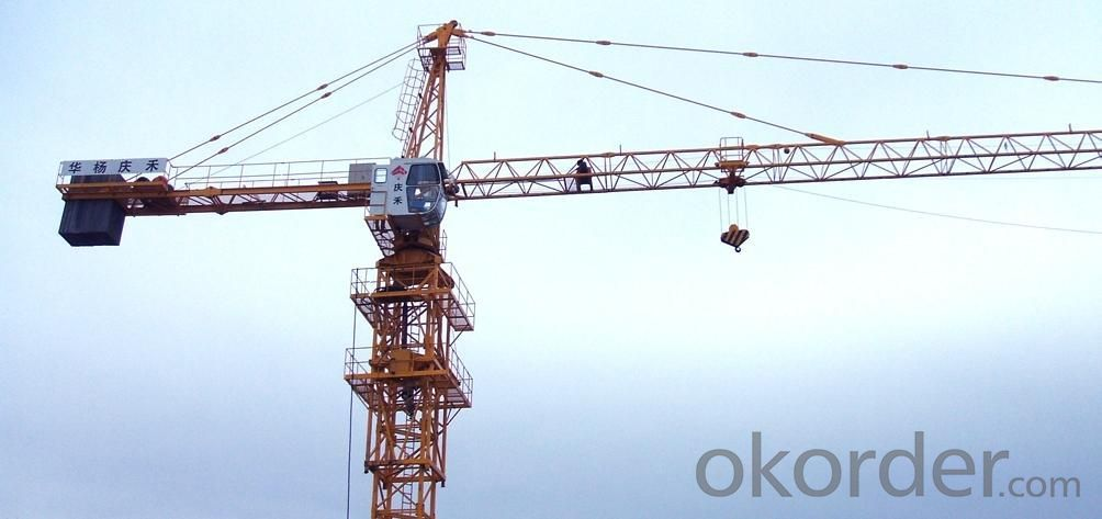 10t Topkit Tower Crane TC6016 CE and ISO9001 certified