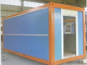 flat pack container house for hotel design in sandwich panel container