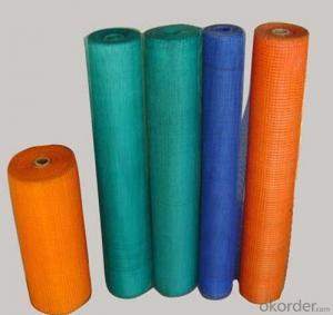 fiberglass mesh, 160gr, 4mmx4mm,  1mx50m