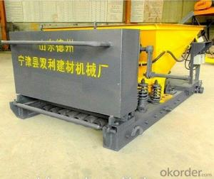 Precast lightweight concrete wall panel forming machine