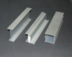 Anodized Aluminum Perfile in Color RAL from China