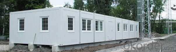 Prefabricated container houses with sweet designs