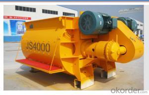 Concrete mixer JS4000 / CE & ISO Certificate