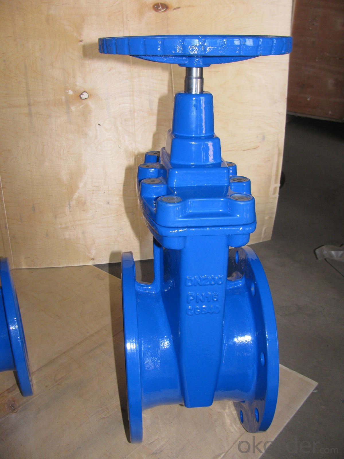UL/FM Approved Flanged Resilient NRS Gate Valve