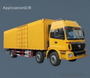Compartment truck body  for loading tool kits