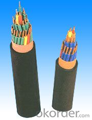 Halogen-free Low Smoke Mouse and Termite proofed D.C Haul Cable for Rail Transportation