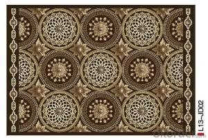 Home decoration Area Rugs with customized sizes