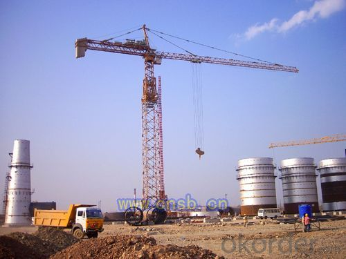 TTC8018-12Flat type tower crane tower crane
