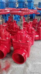 Ductile Iron Rising Non-Rising Stem Resilient   Seated cast iron gate valve,water gate valve