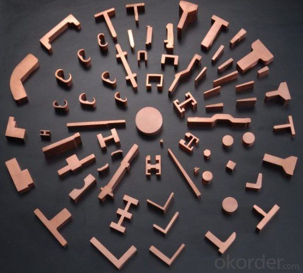 High Density Copper Profile for Electric Power Equipment