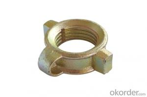 Scaffolding adjustable shoring prop nut with BV certificate