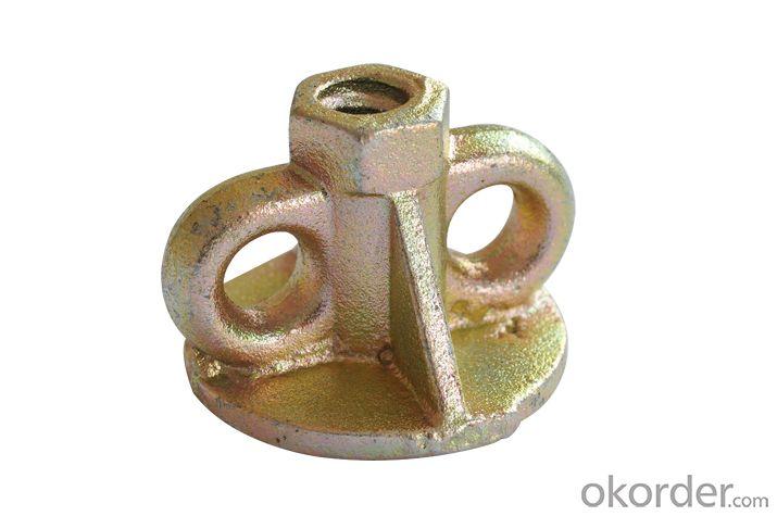 Galvzined formwork prop nut sleeve nut Scaffold prop nut accessary