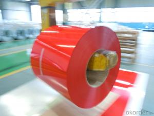 color coated steel coil PPGI high quality roof building material