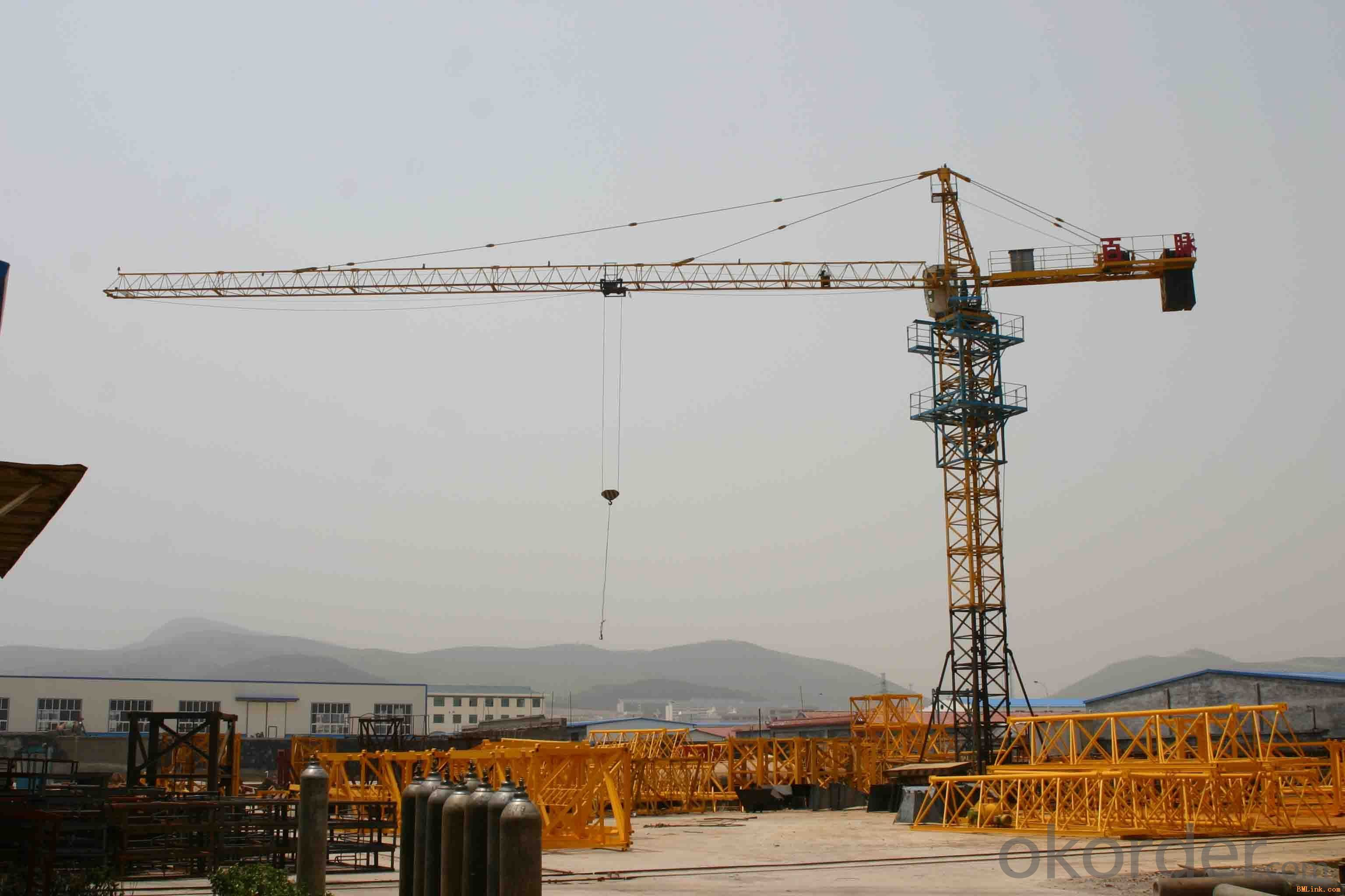 TTC8018-16Flat type tower crane Flat series