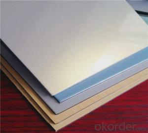 TOBOND interior metal wall panel/ ACP/metal wall tiles/acp