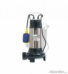 V Series Submersible Sewage Pump with Cutting Device