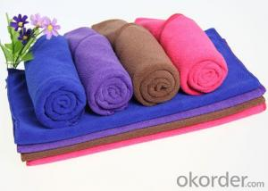 Microfiber cleaning towel in low price and new design