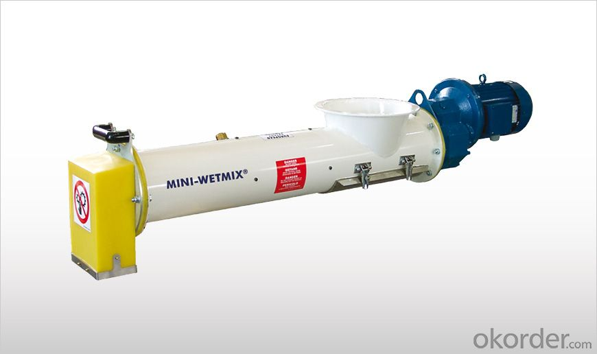 MINI-WETMIX Mortar Mixers for Small Silos