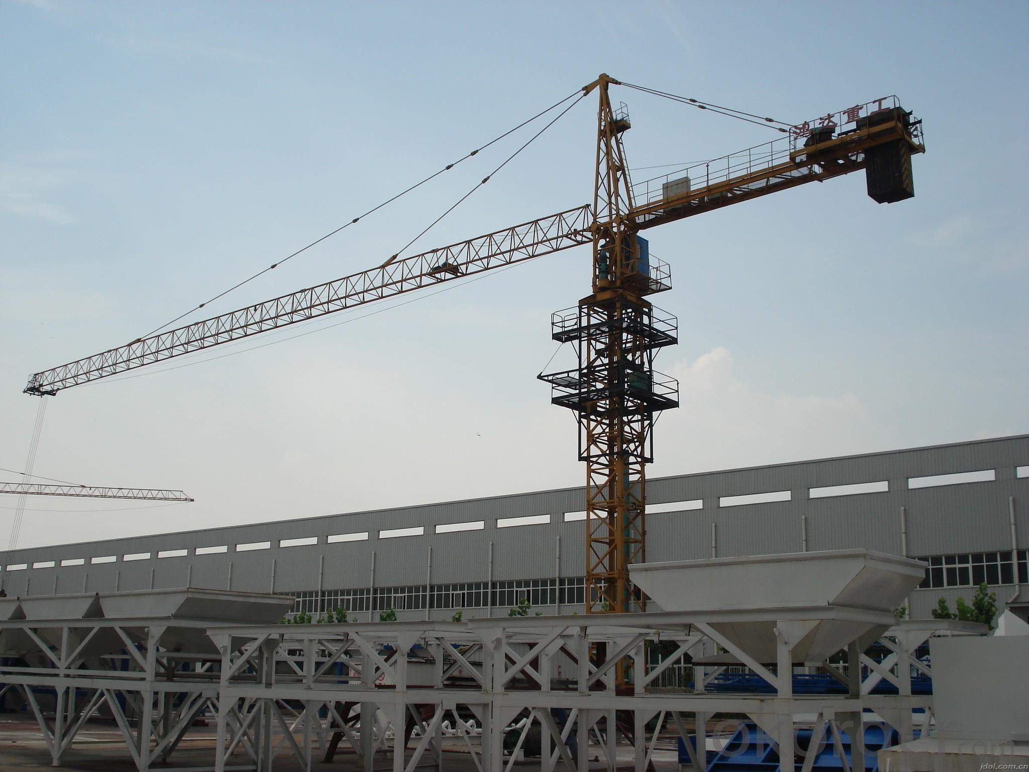 QTZ63 TC5610 Self erected top quality tower crane