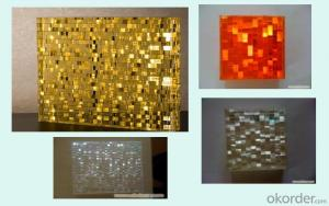 Crystal Plastic Panel with variety of colors and Design